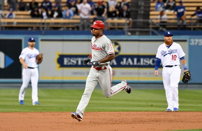 Los Angeles Dodgers vs. Philadelphia Phillies - 5/30/18 MLB Pick, Odds, and Prediction