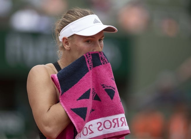 Darya Kasatkina vs. Caroline Wozniacki 2018 French Open Tennis Pick, Preview, Odds, Prediction
