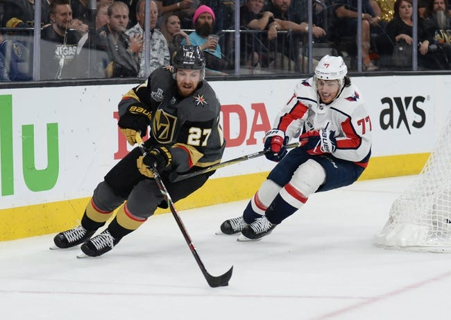 Washington Capitals vs. Vegas Golden Knights - 6/2/18 NHL Pick, Odds, and Prediction