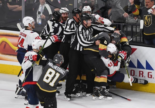 Vegas Golden Knights at Washington Capitals - Game 3 - 6/2/18 NHL Pick, Odds, and Prediction