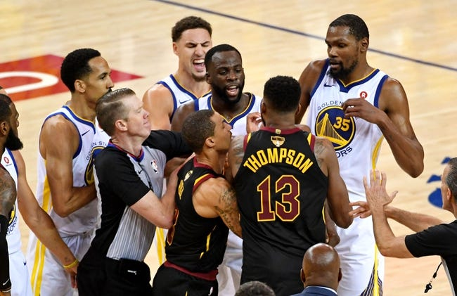 Cleveland Cavaliers at Golden State Warriors - Game 2 - 6/3/18 NBA Pick, Odds, and Prediction