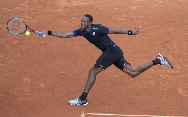 Gael Monfils vs. Blaz Kavcic 2018 Antalya Open Tennis Pick, Preview, Odds, Prediction