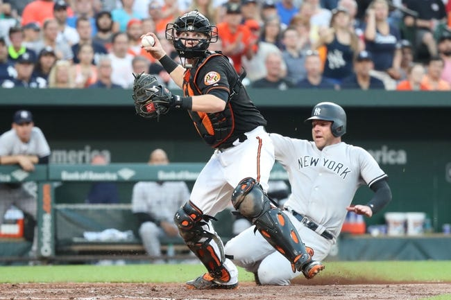Baltimore Orioles vs. New York Yankees - 6/2/18 MLB Pick, Odds, and Prediction