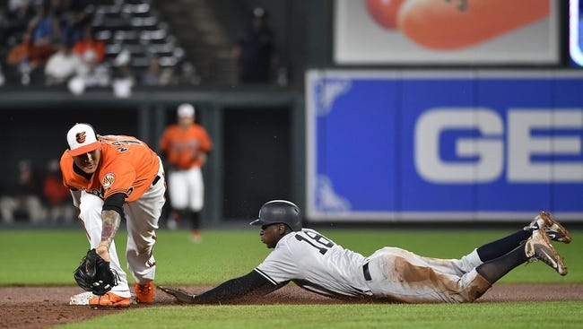 Baltimore Orioles vs. New York Yankees Game 2 - 7/9/18 MLB Pick, Odds, and Prediction