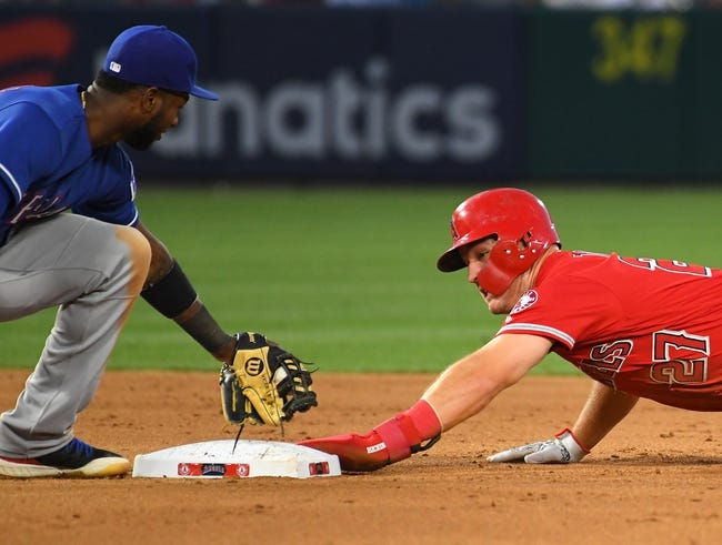 MLB | Texas Rangers (24-36) at Los Angeles Angels (31-27)