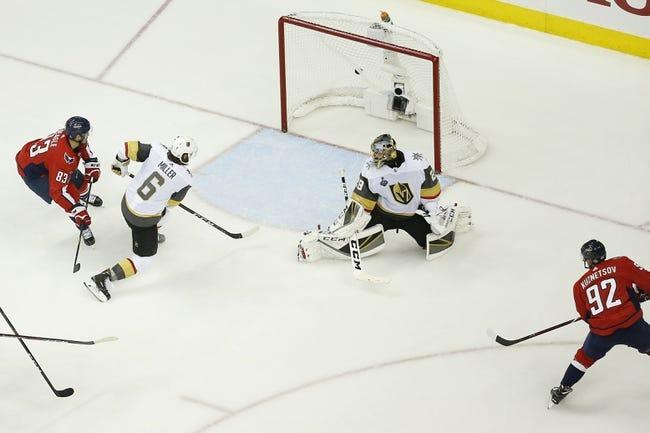 Vegas Golden Knights at Washington Capitals - Game 4 - 6/4/18 NHL Pick, Odds, and Prediction