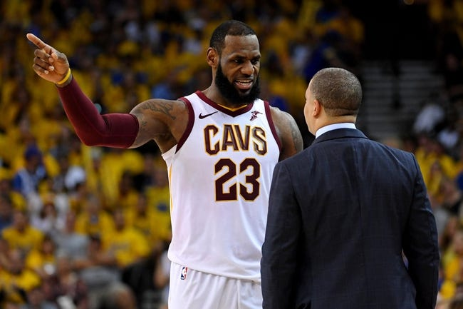 NBA | Golden State Warriors (72-29) at Cleveland Cavaliers (62-40)