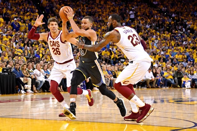 Golden State Warriors at Cleveland Cavaliers - Game 3 - 6/6/18 NBA Pick, Odds, and Prediction