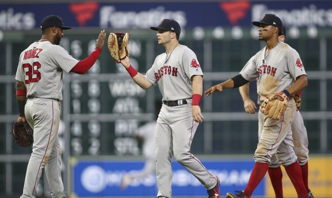 Boston Red Sox vs. Houston Astros - 9/7/18 MLB Pick, Odds, and Prediction