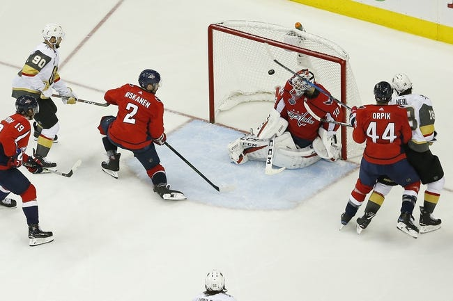 Washington Capitals at Vegas Golden Knights - Game 5 - 6/7/18 NHL Pick, Odds, and Prediction