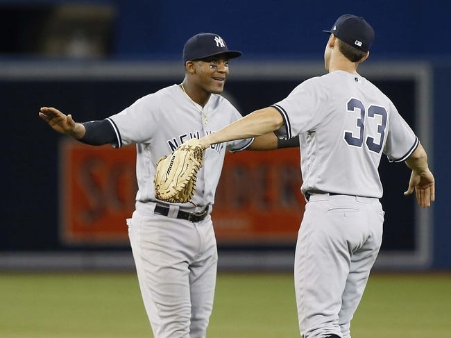 Toronto Blue Jays vs. New York Yankees - 6/6/18 MLB Pick, Odds, and Prediction