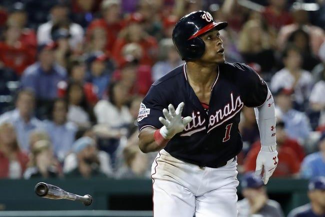 MLB | Tampa Bay Rays (28-30) at Washington Nationals (33-25)