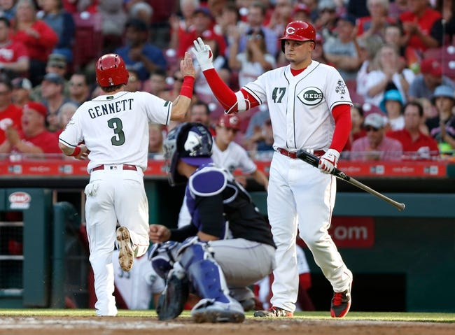 Cincinnati Reds vs. Colorado Rockies - 6/7/18 MLB Pick, Odds, and Prediction