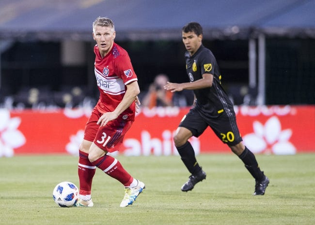Chicago Fire vs. New England Revolution - 6/9/18 MLS Soccer Pick, Odds, and Prediction