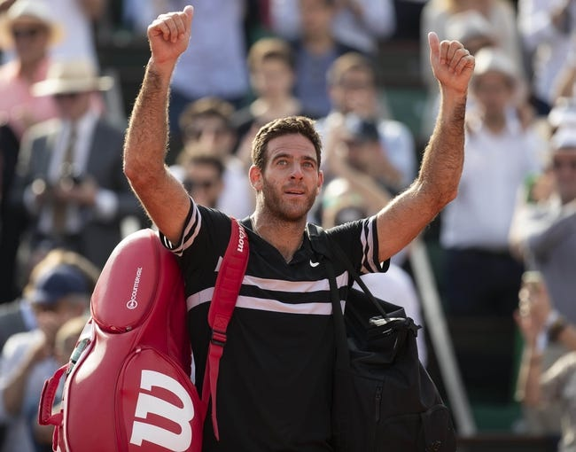 Juan Martin Del Potro vs. Feliciano Lopez 2018 Wimbledon Tennis Pick, Preview, Odds, Prediction