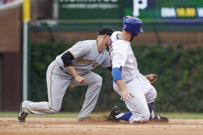 Chicago Cubs vs. Pittsburgh Pirates - 6/9/18 MLB Pick, Odds, and Prediction