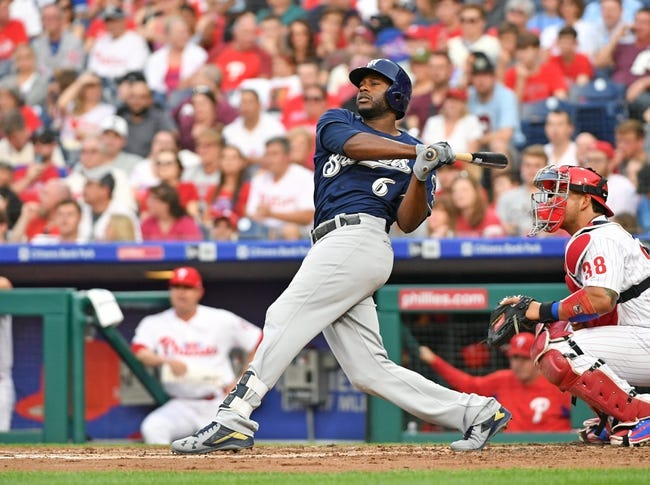 Philadelphia Phillies vs. Milwaukee Brewers - 6/9/18 MLB Pick, Odds, and Prediction