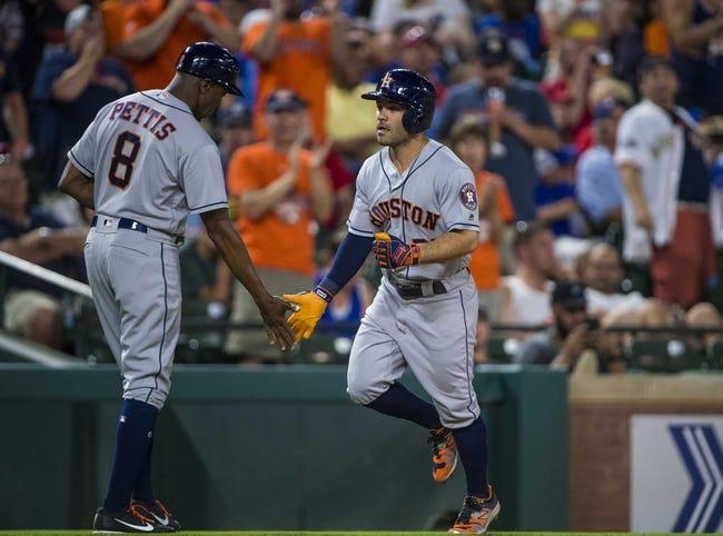 Texas Rangers vs. Houston Astros - 6/9/18 MLB Pick, Odds, and Prediction