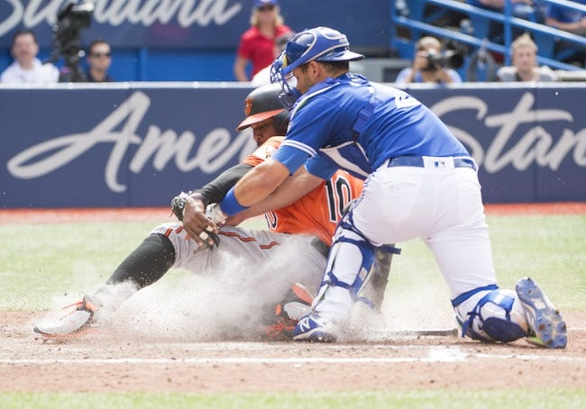 Toronto Blue Jays vs. Baltimore Orioles - 6/10/18 MLB Pick, Odds, and Prediction