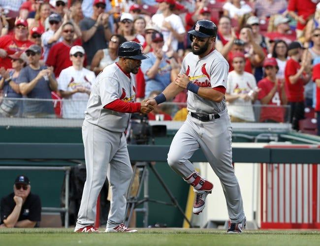 Cincinnati Reds vs. St. Louis Cardinals - 6/10/18 MLB Pick, Odds, and Prediction