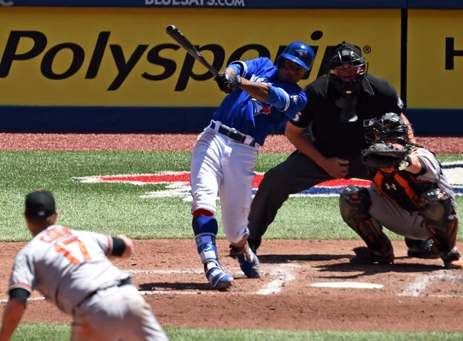 Toronto Blue Jays vs. Baltimore Orioles - 7/21/18 MLB Pick, Odds, and Prediction