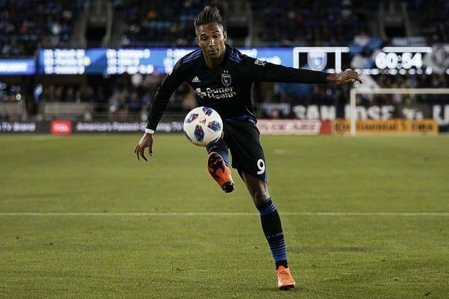 New England Revolution vs. San Jose Earthquakes - 6/13/18 MLS Soccer Pick, Odds, and Prediction