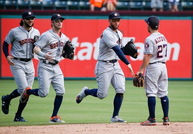 Texas Rangers vs. Houston Astros - 7/3/18 MLB Pick, Odds, and Prediction