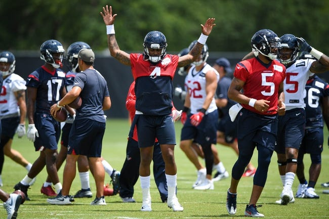 NFL Odds: Houston Texans 2018 NFL Betting Preview