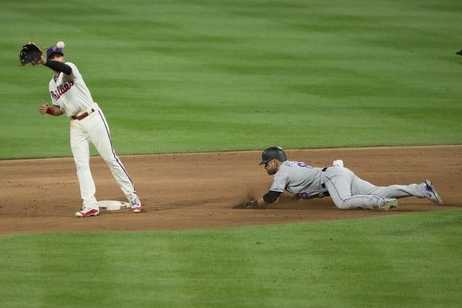 Philadelphia Phillies vs. Colorado Rockies - 6/13/18 MLB Pick, Odds, and Prediction