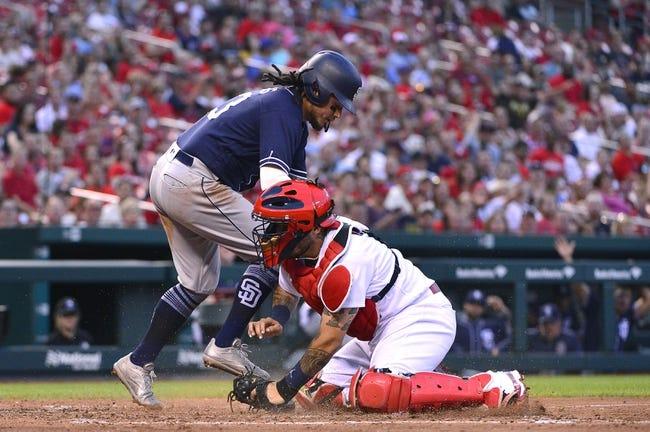 MLB | San Diego Padres (31-37) at St. Louis Cardinals (36-28)