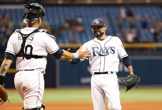 MLB | Toronto Blue Jays (30-37) at Tampa Bay Rays (31-35)
