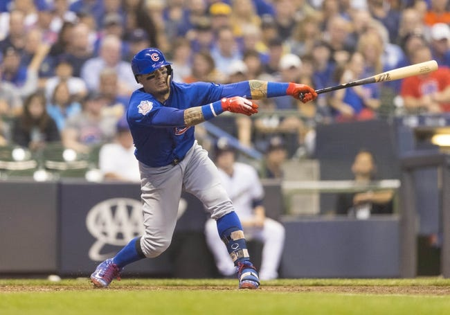 Milwaukee Brewers vs. Chicago Cubs - 6/13/18 MLB Pick, Odds, and Prediction