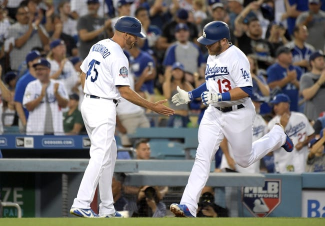MLB | Texas Rangers (27-41) at Los Angeles Dodgers (33-32)