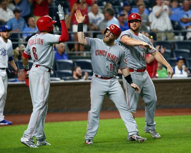 Kansas City Royals vs. Cincinnati Reds - 6/13/18 MLB Pick, Odds, and Prediction