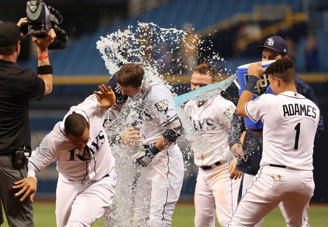 Toronto Blue Jays vs. Tampa Bay Rays - 8/10/18 MLB Pick, Odds, and Prediction
