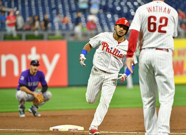 Philadelphia Phillies vs. Colorado Rockies - 6/14/18 MLB Pick, Odds, and Prediction