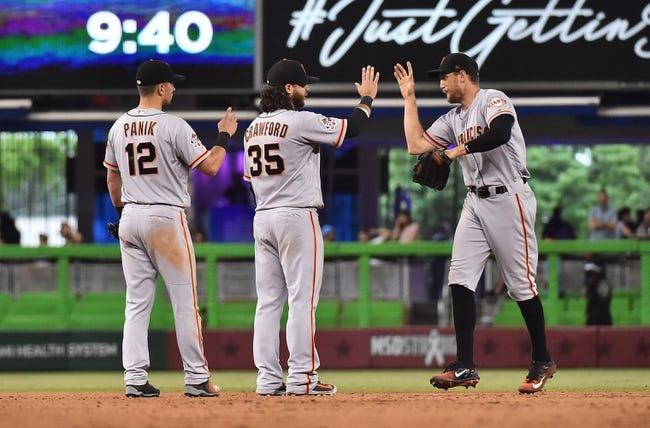 San Francisco Giants vs. Miami Marlins - 6/18/18 MLB Pick, Odds, and Prediction