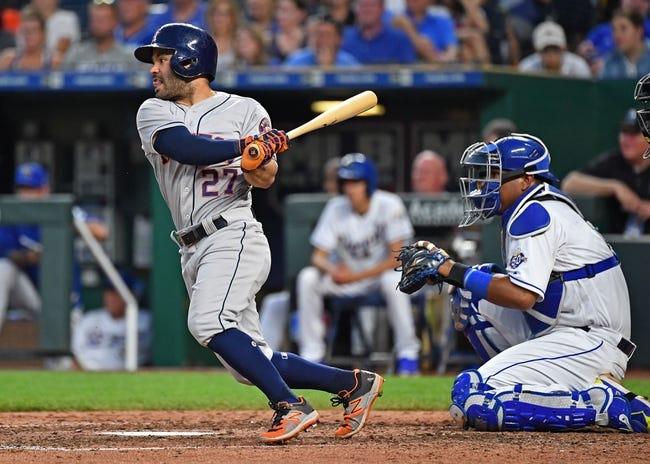 MLB | Houston Astros (45-25) at Kansas City Royals (22-46)