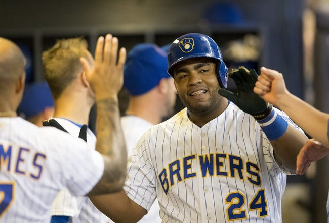 MLB | Philadelphia Phillies (35-31) at Milwaukee Brewers (41-27)