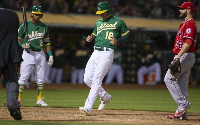 Oakland Athletics vs. Los Angeles Angels - 6/16/18 MLB Pick, Odds, and Prediction