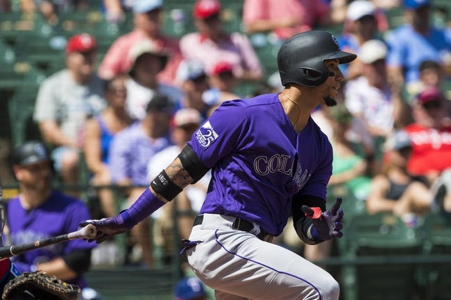 Texas Rangers vs. Colorado Rockies - 6/17/18 MLB Pick, Odds, and Prediction