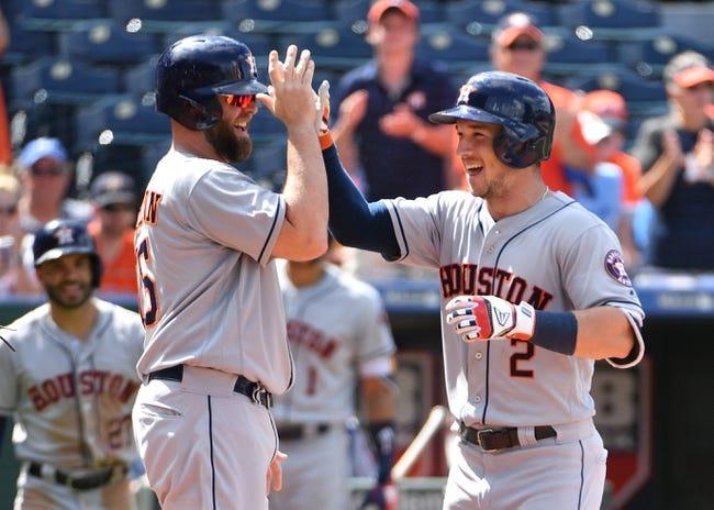 Kansas City Royals vs. Houston Astros - 6/17/18 MLB Pick, Odds, and Prediction