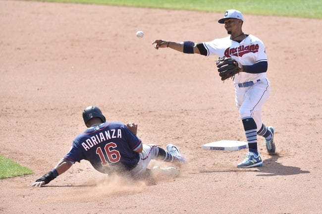 MLB | Cleveland Indians (57-47) at Minnesota Twins (48-56)
