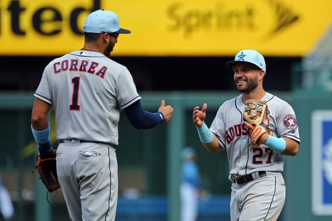 MLB | Kansas City Royals (22-52) at Houston Astros (50-26)