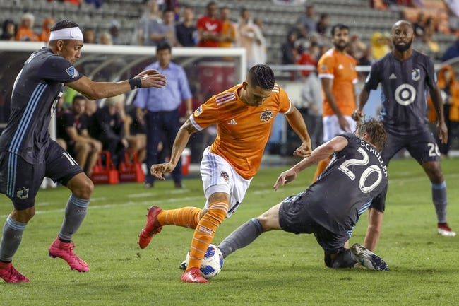 Sporting Kansas City vs Houston Dynamo- 6/23/18 MLS Soccer Pick, Odds, and Prediction