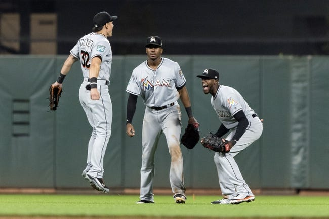 MLB | Miami Marlins (29-44) at San Francisco Giants (35-38)