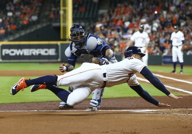 MLB | Tampa Bay Rays (33-39) at Houston Astros (49-25)