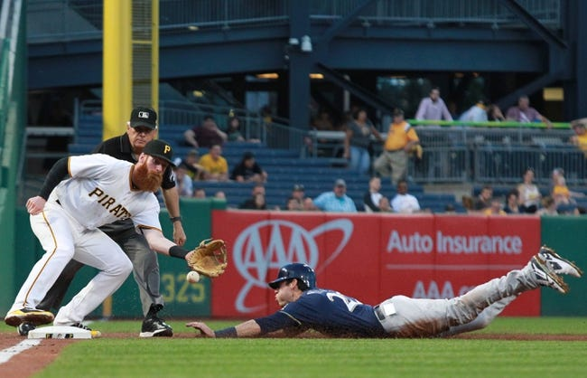 Pittsburgh Pirates vs. Milwaukee Brewers - 6/20/18 MLB Pick, Odds, and Prediction