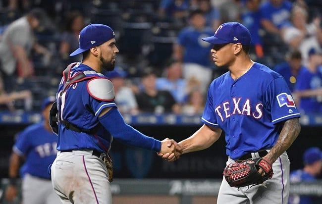 Kansas City Royals vs. Texas Rangers - 6/20/18 MLB Pick, Odds, and Prediction