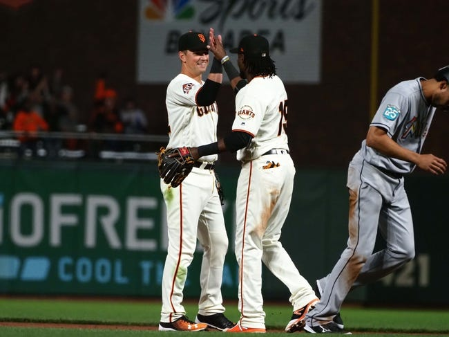 MLB | Miami Marlins (29-45) at San Francisco Giants (36-38)